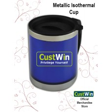 CUSTWIN ISOTHERMAL METALLIC CUP