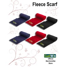 CUSTWIN FLEECE SCARF UNISEX